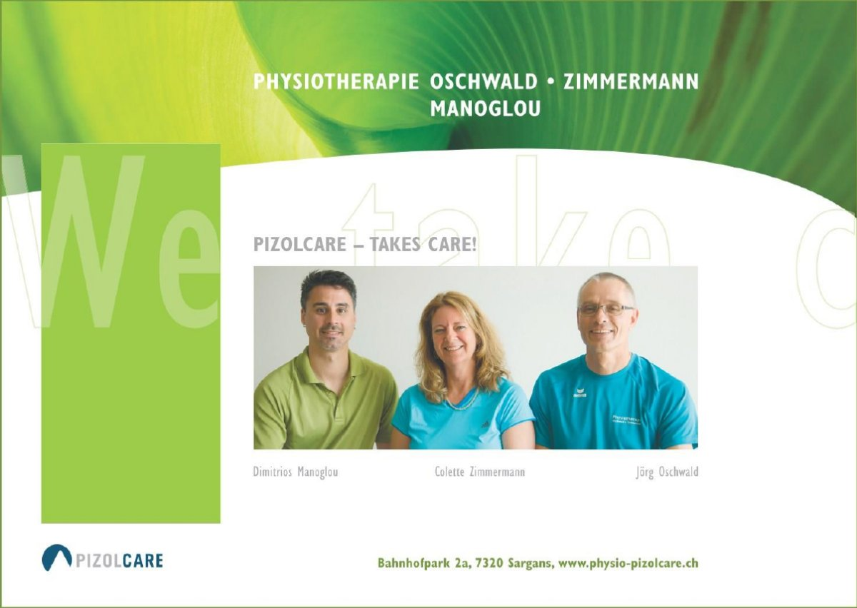 Physiotherapie Pizolcare